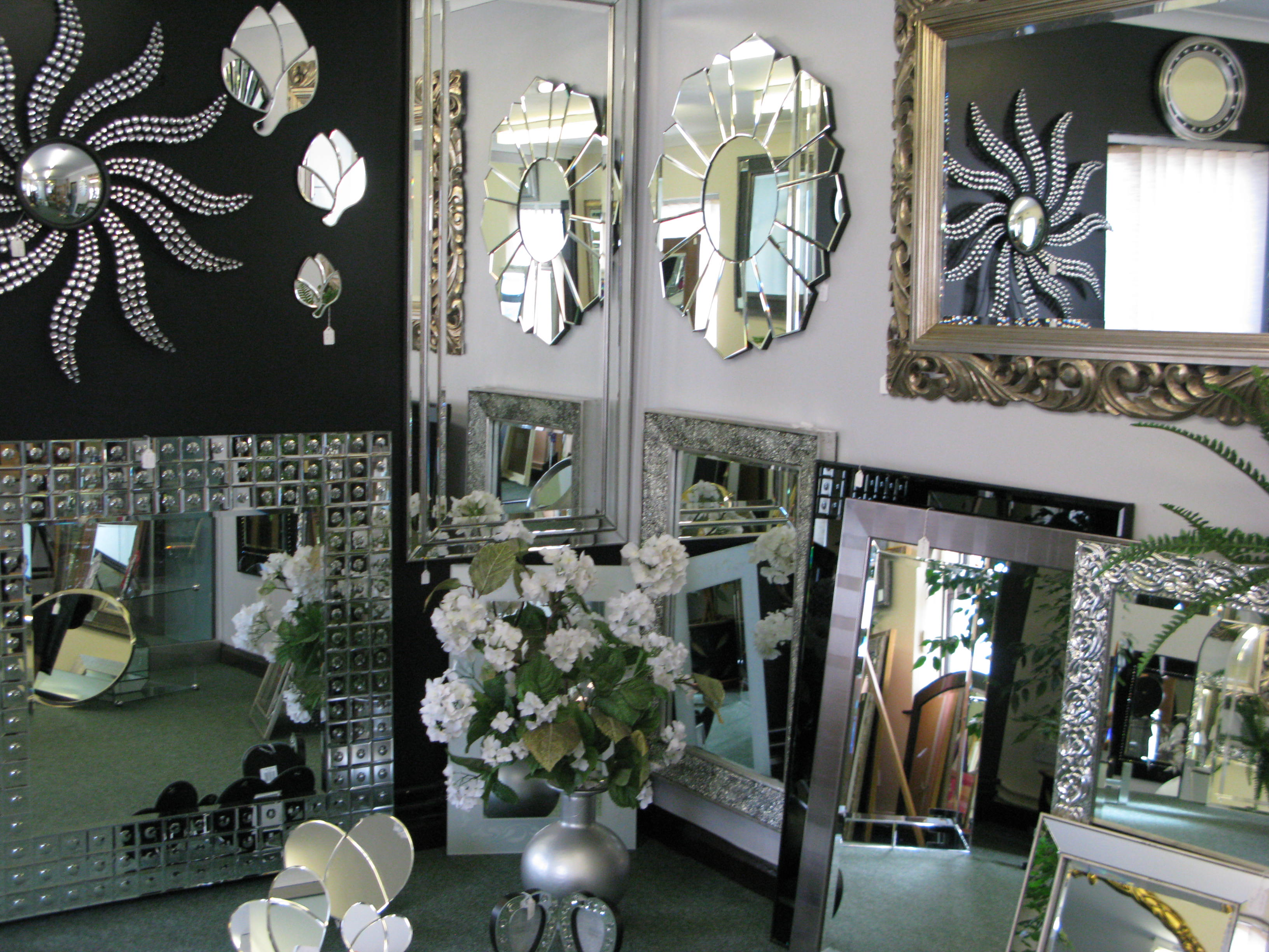 Truro Mirror Showroom