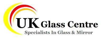 uk glass centre logo white