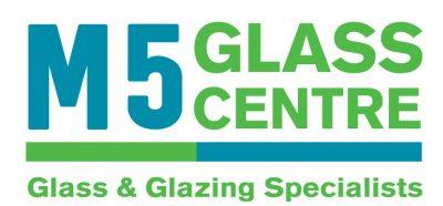 large m5 glass centre logo