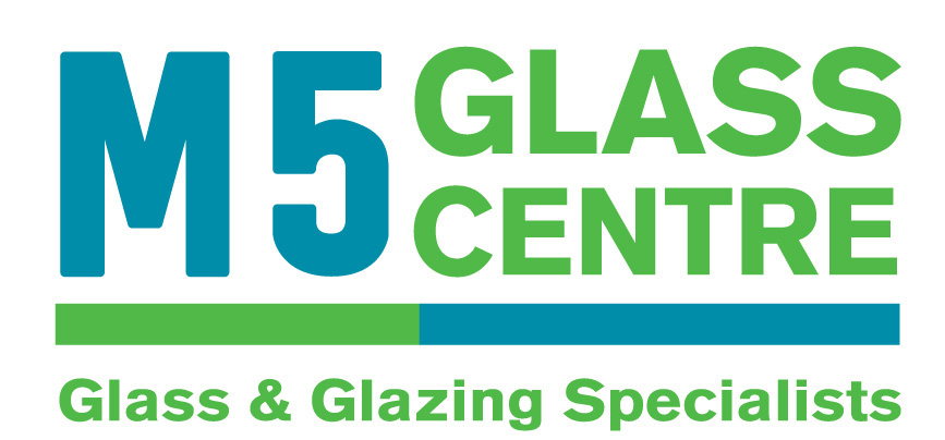 large m5 glass centre logo