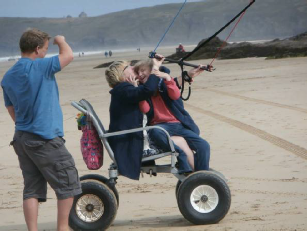 Cornwall Accessible Activity Programme - A day at the beach