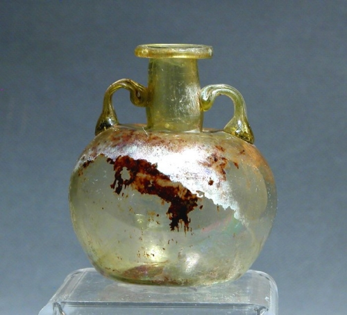 ancient glass vase