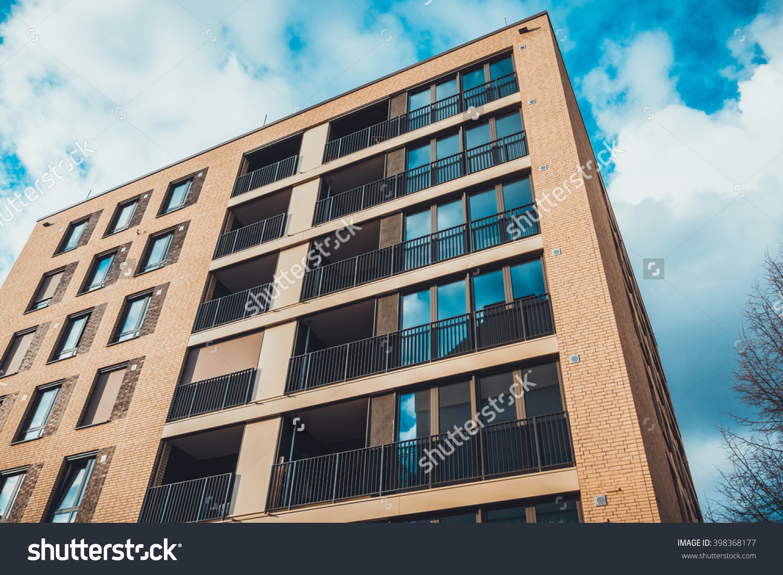 Shuttershock Apartment Building External