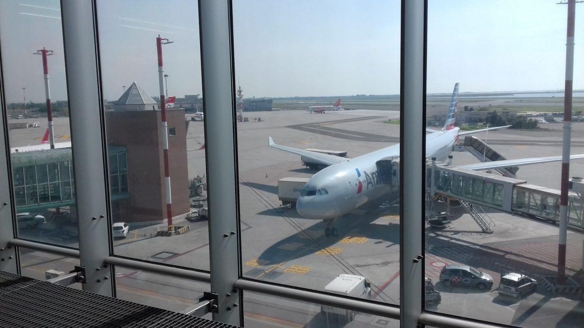 aeroplane at terminal