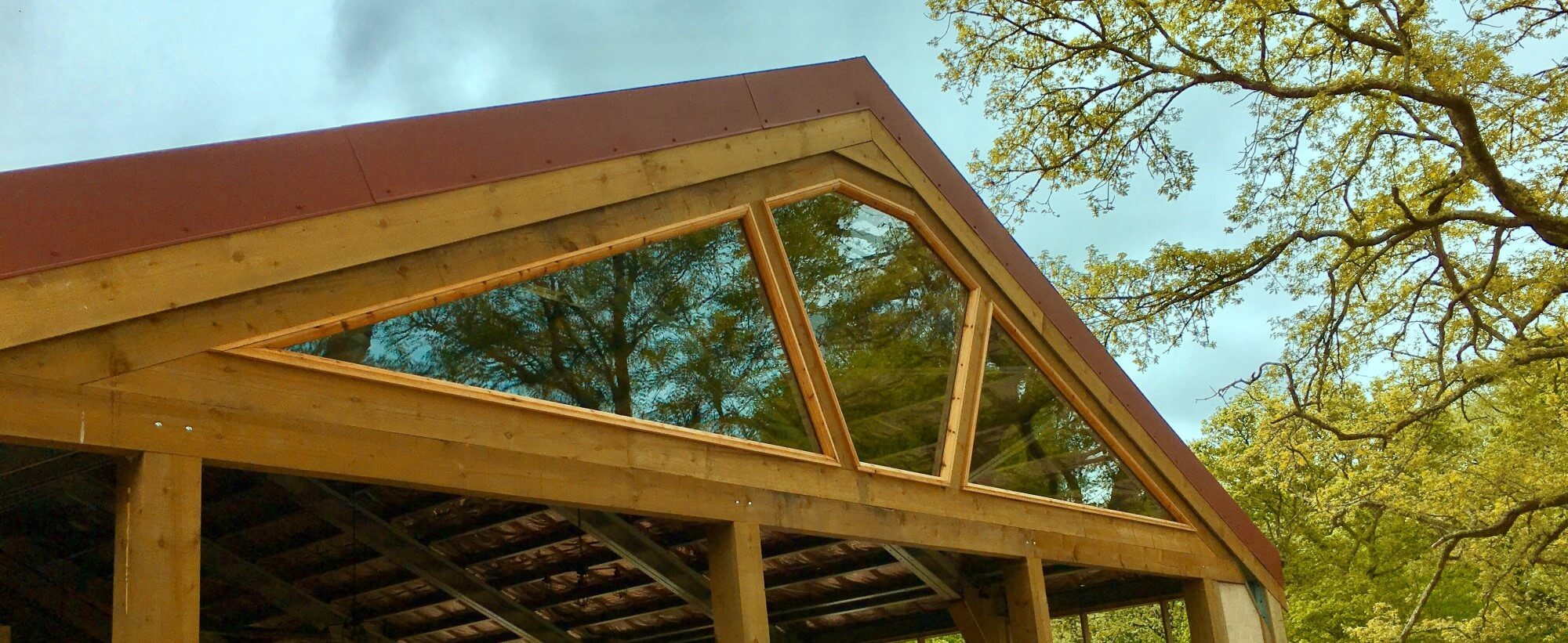 glass roof front