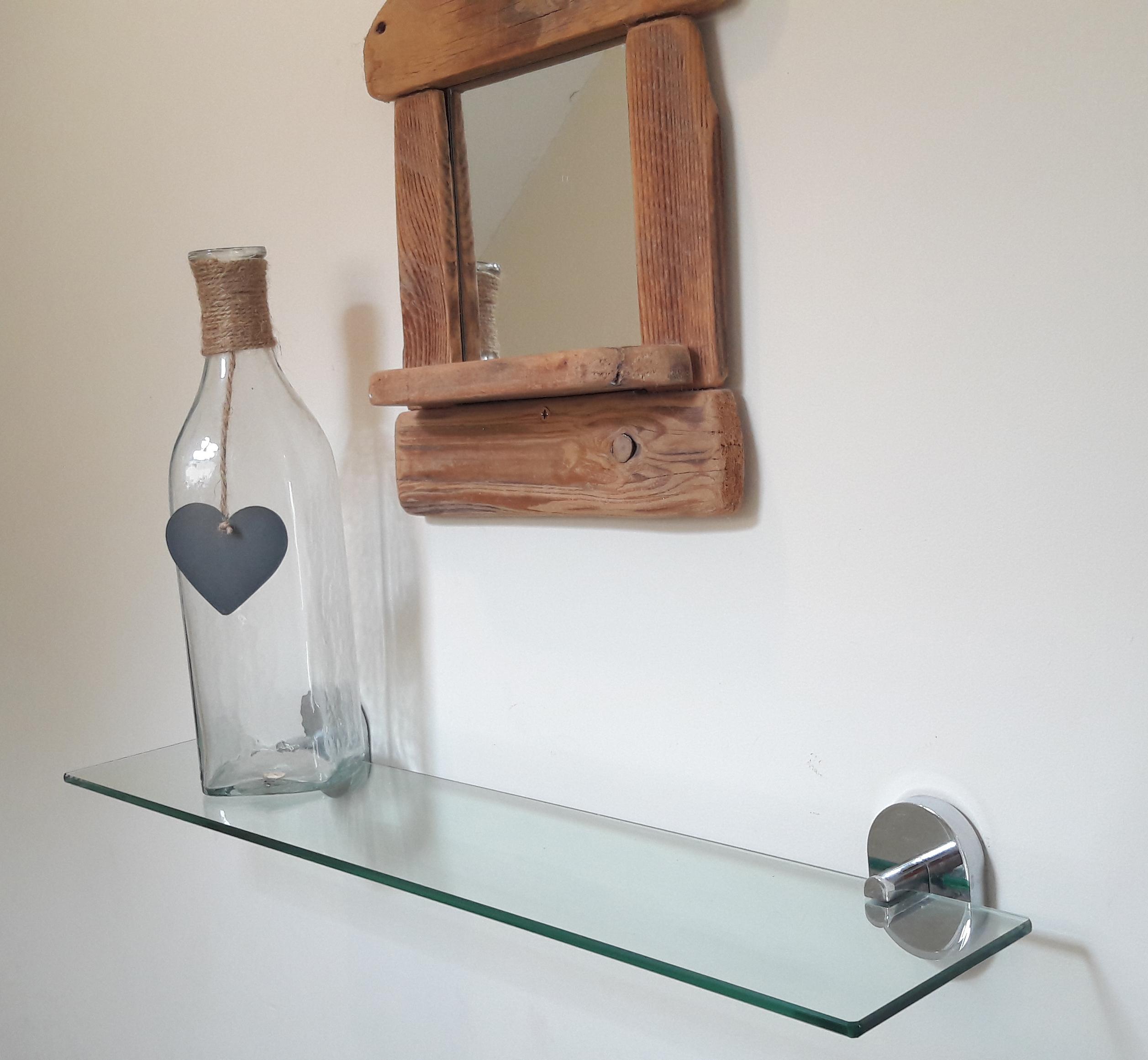 bottle on shelf