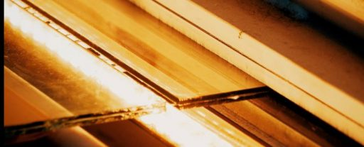 Cutting Laminated Glass
