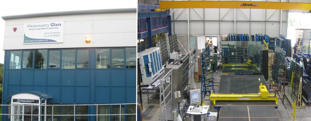 inside and outside of westcountry glass