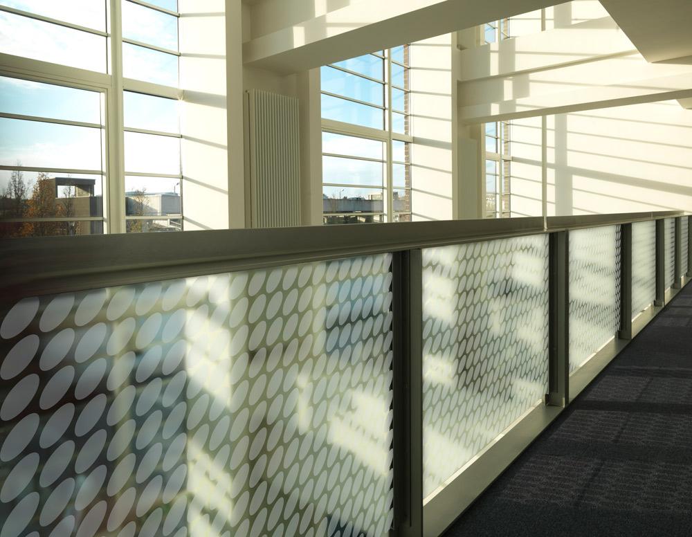 inside building walkway