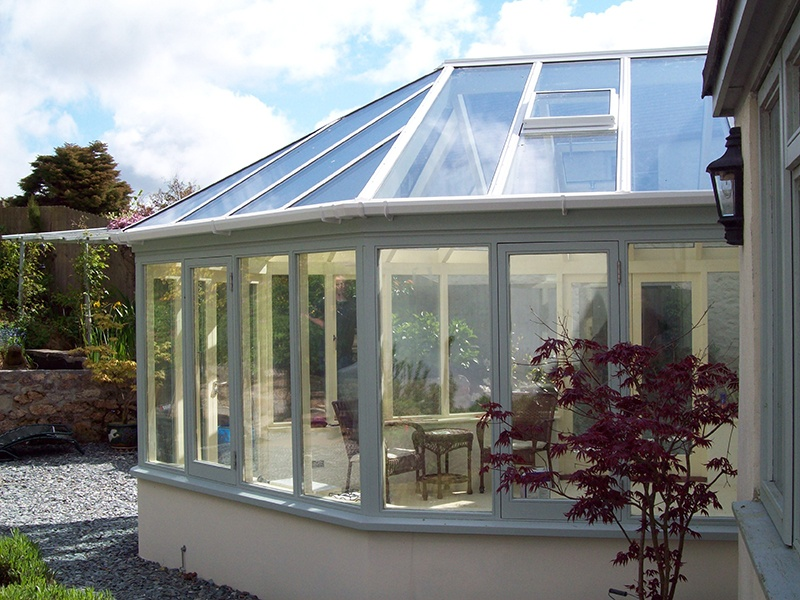 outside conservatory