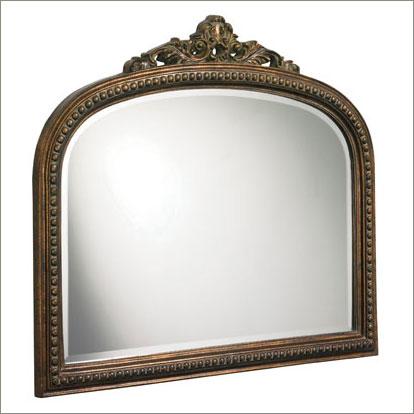 bronze frame mirror