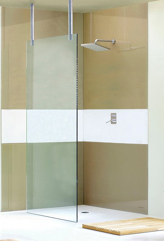 waterfall shower screen