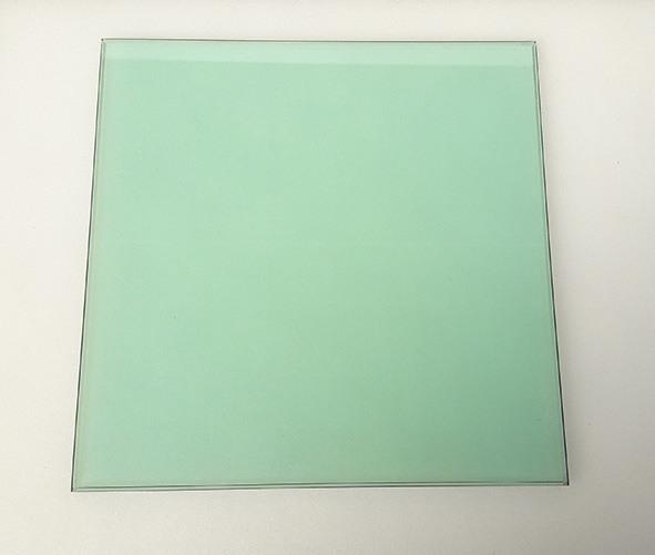 aqua tinted glass