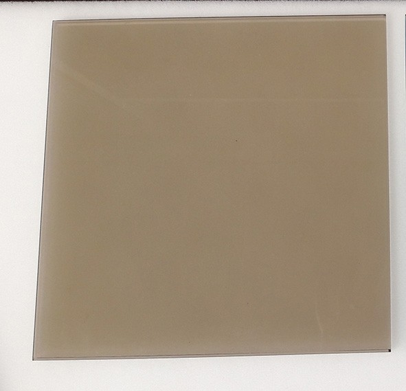 beige tinted glass