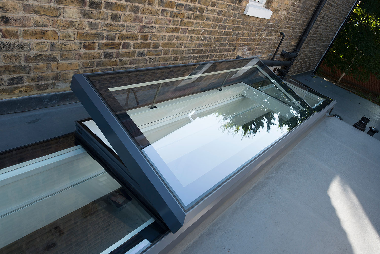 rooftop rectangular skylight