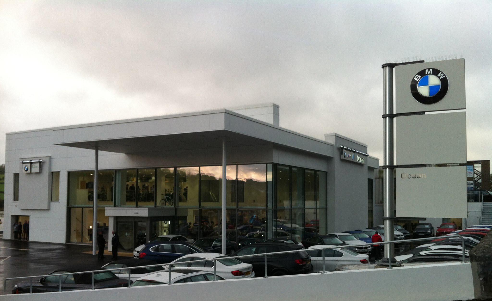 Aluminium Doors BMW Penryn
