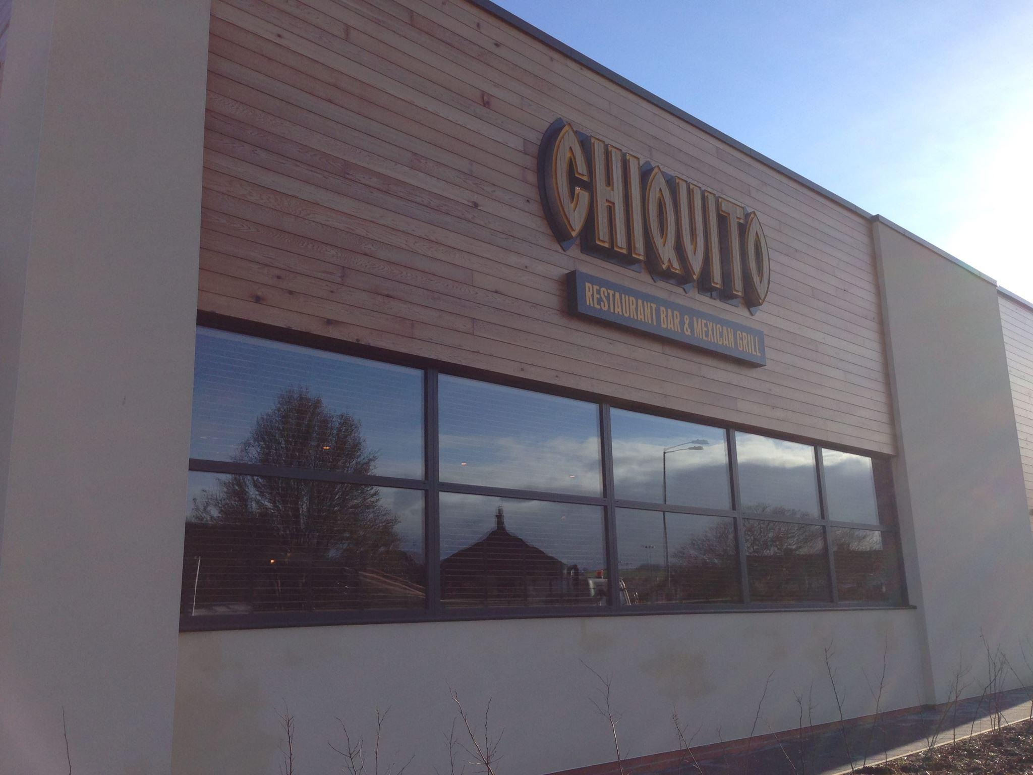 Chiquito Restaurant Glass Front