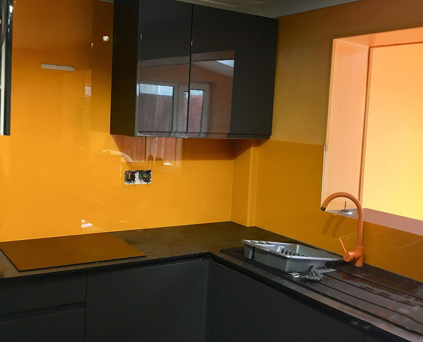 Orange Splashbacks