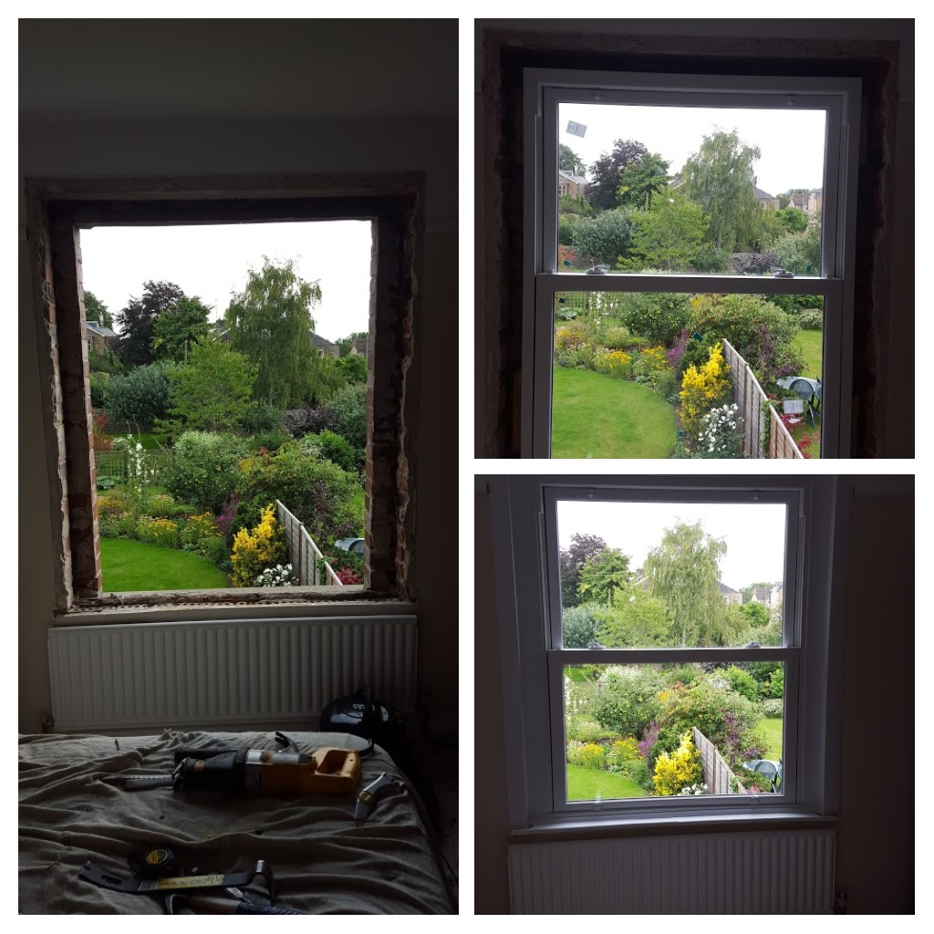Box Sash window replacement