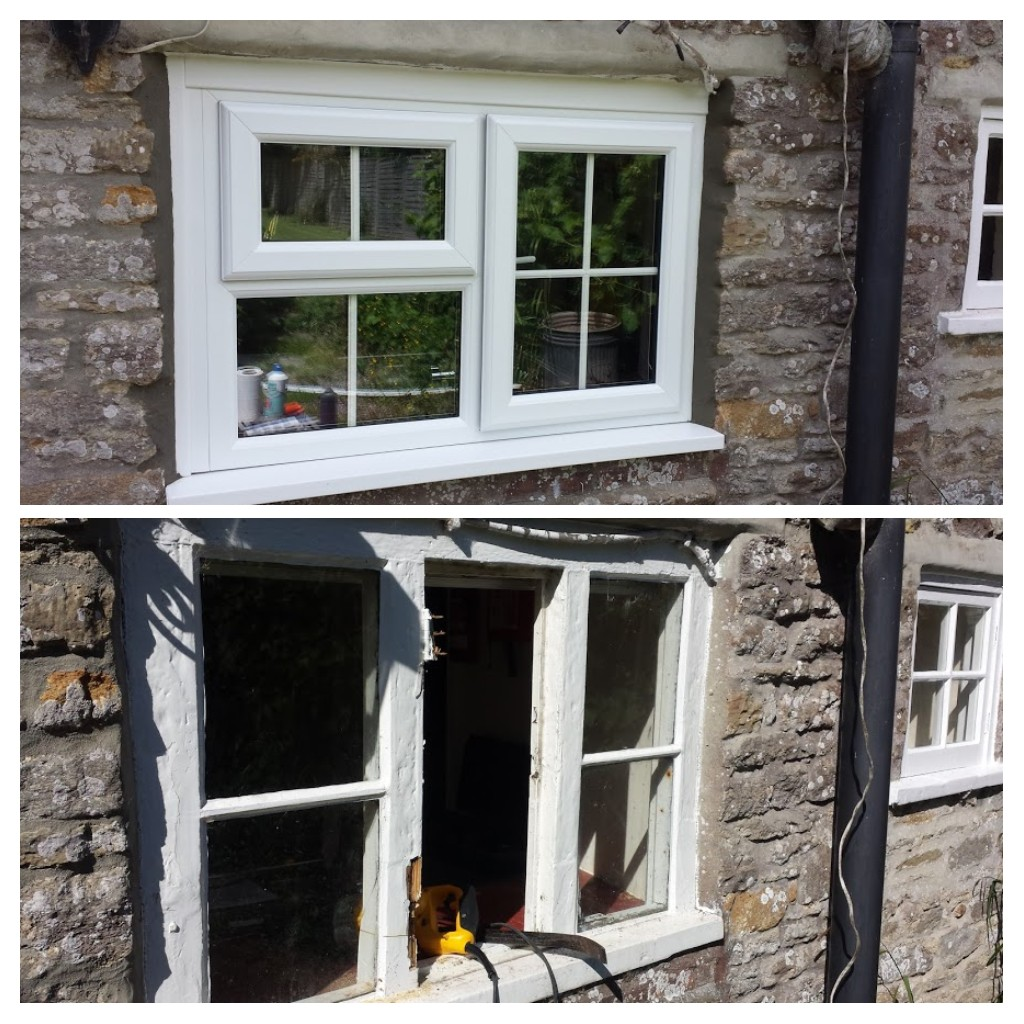 Cottage window replacement