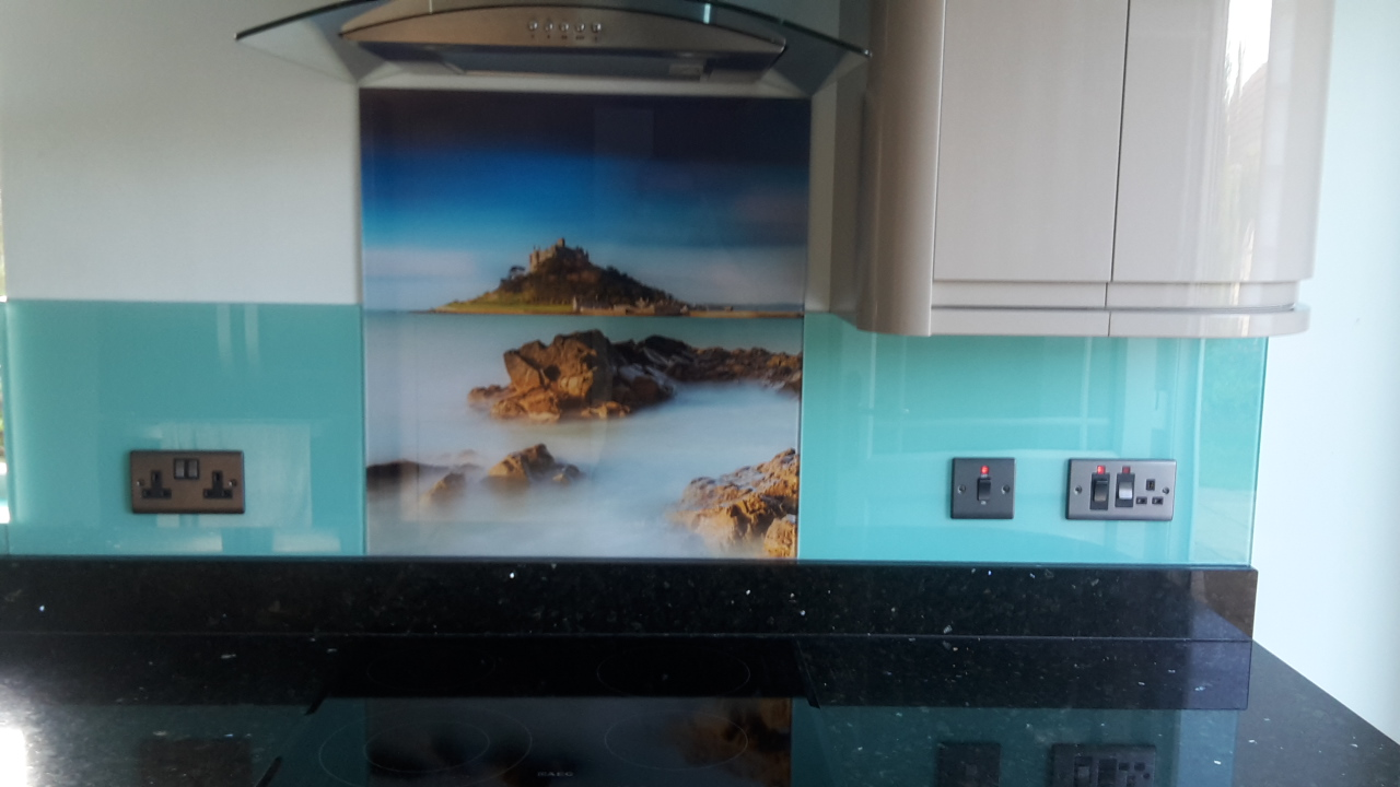 Photo Glass Splashback