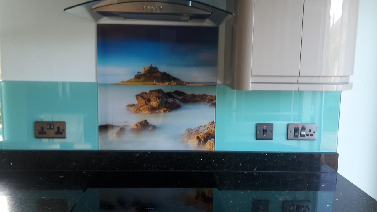 Photo Glass Splashback