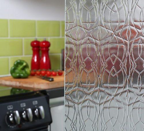 Tribal textured glass