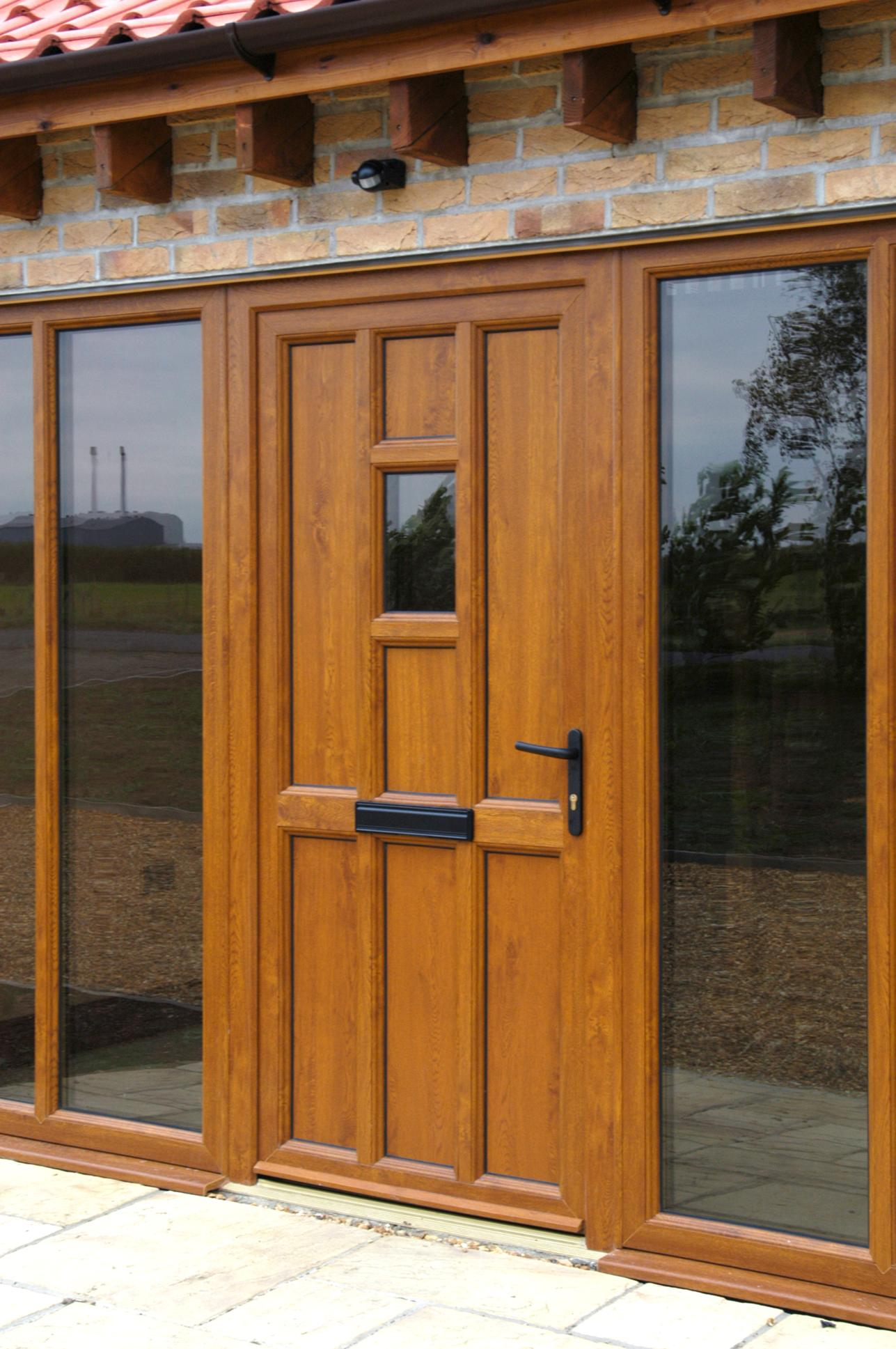 Door and Panel Installation