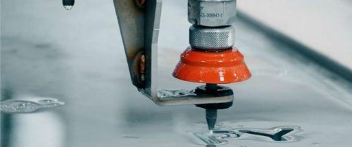Water Jet glass cutting