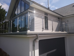 Exterior Glass Balcony