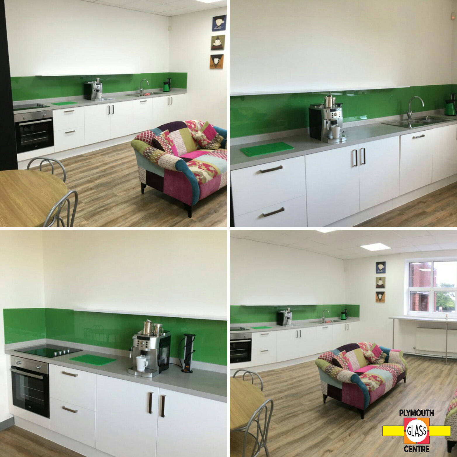 Montpellier School Green Splashback