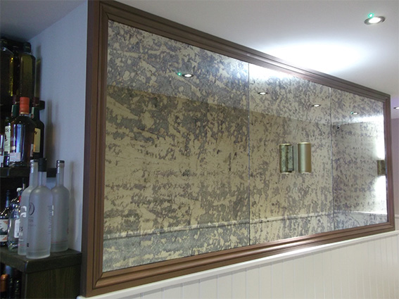 Bespoke Antique Mirror Glass