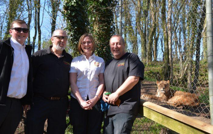 Dartmoor Zoo meets Cornwall Glass