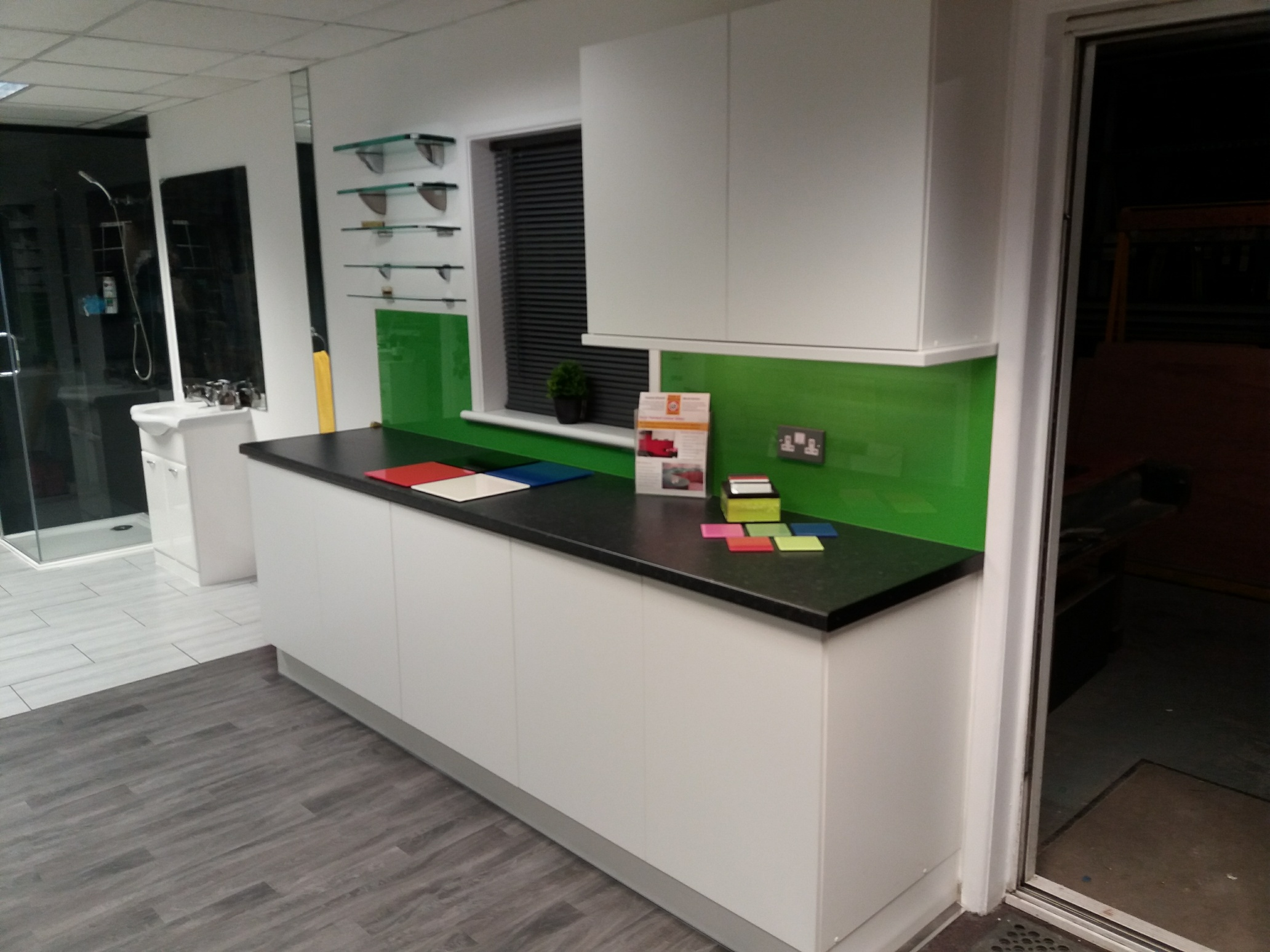 Exeter Showroom Splashback