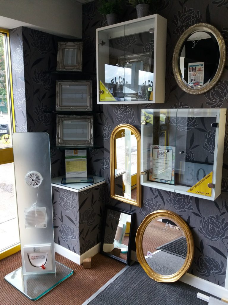 Exeter Showroom Mirrors Cornwall Glass