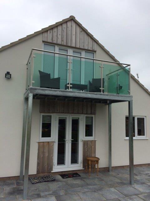 Balcony Glass Yeovil