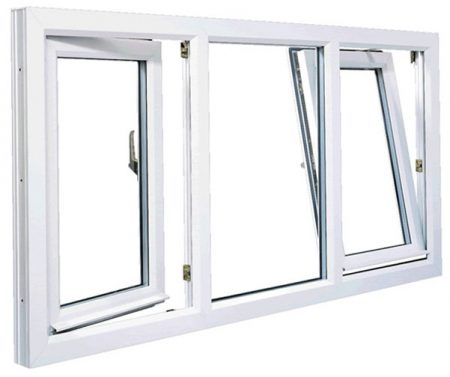 Tilt and turn window Rehau