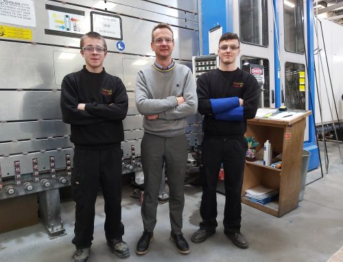 Cornwall Glass Manufacturing Apprentice Pledge for 2020