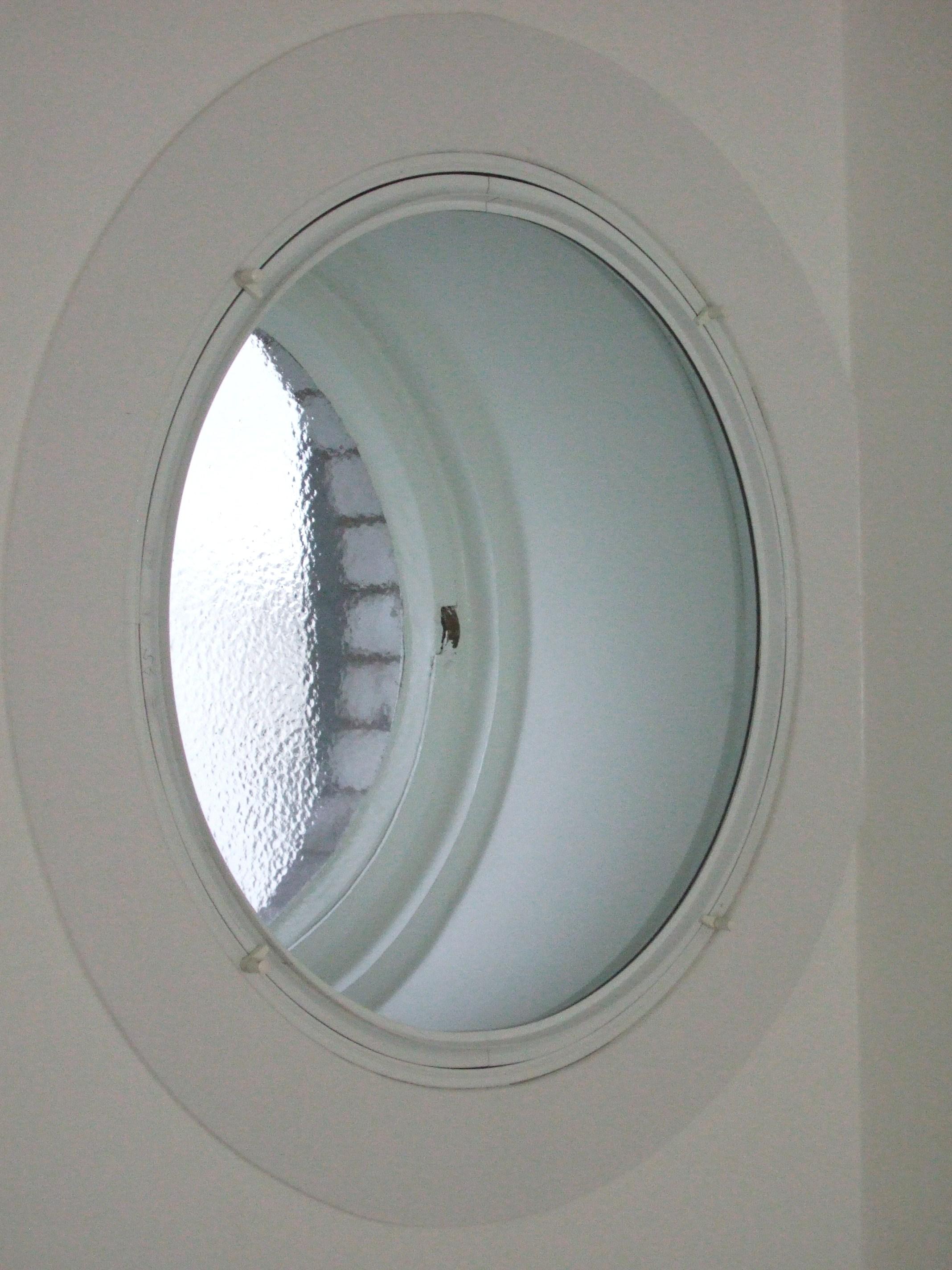 Circular secondary glazing