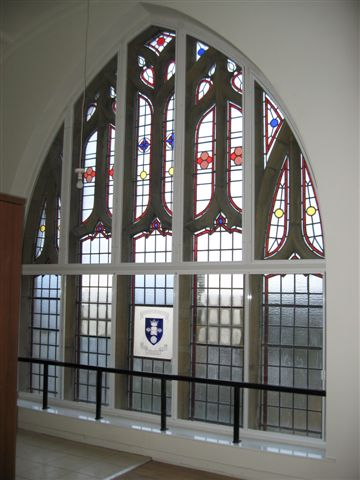 Heritage building secondary glazing