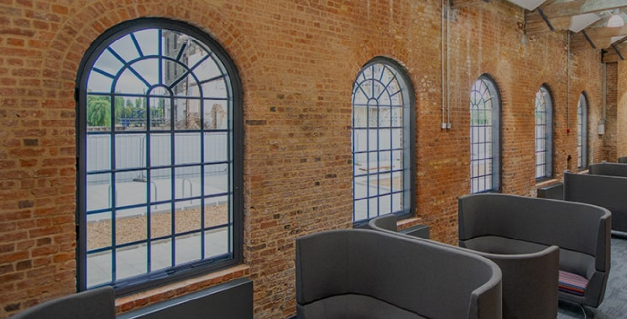Arched Commercial secondary glazing