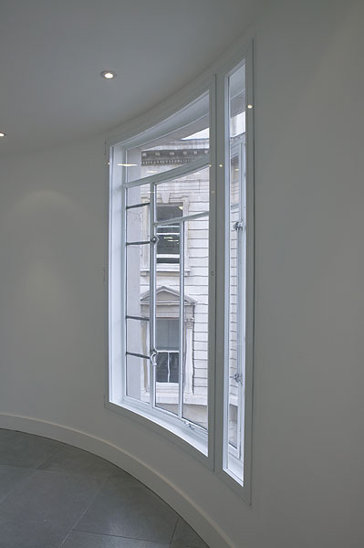 Curved Secondary Glazing